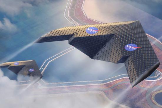 NASA testa novo tipo de asa de avião