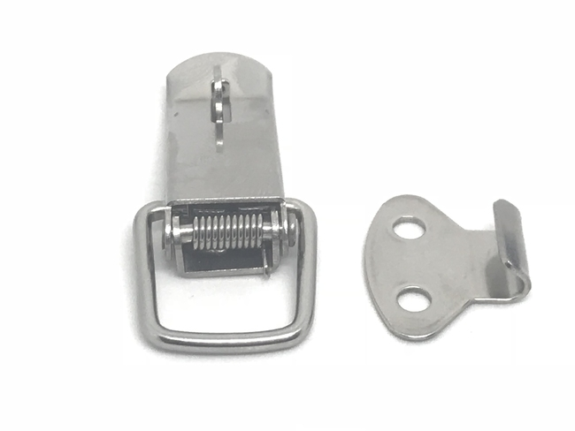 Latches and hold-down clamps - JJ70A- DRAW LATCH STAINLESS