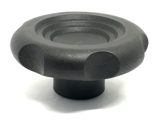 KNOB PLASTIC 62 THREADED BLIND HOLE